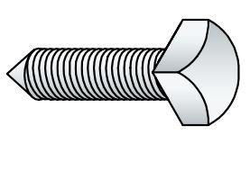 Cone Point Set Screw | Kounis Metal Industries